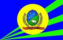 Bandeira da cidade de Novo Gama